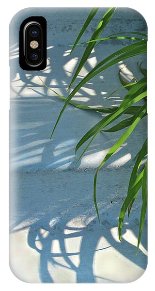 IPhone Case featuring the photograph Summer Shadows by Nancy Lee Moran
