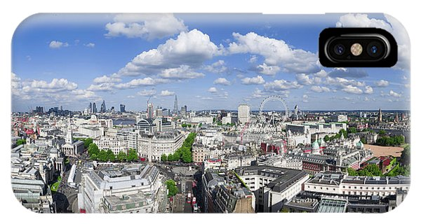 Summer Skies Over London IPhone Case