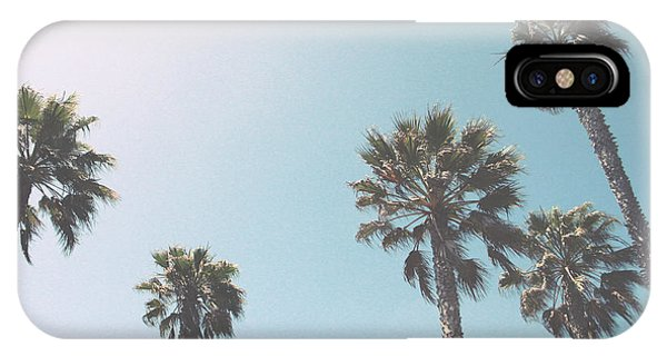 California iPhone Case - Summer Sky- By Linda Woods by Linda Woods