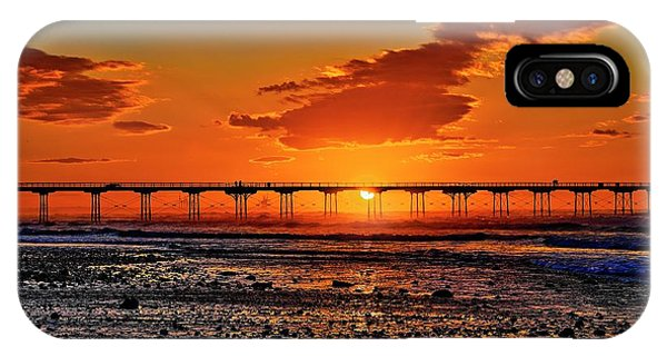 Summer Solstice Sunset IPhone Case