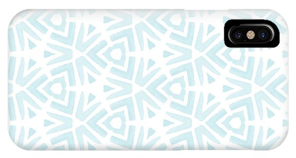 Aqua iPhone Case - Summer Splash- Pattern Art By Linda Woods by Linda Woods