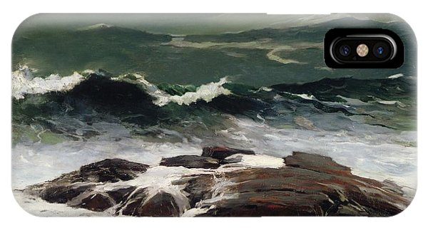 Homer iPhone Case - Summer Squall by Winslow Homer