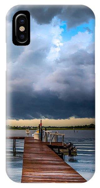 Summer Storm Blues IPhone Case