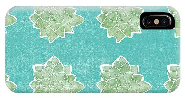 Succulent iPhone Case - Summer Succulents- Art By Linda Woods by Linda Woods