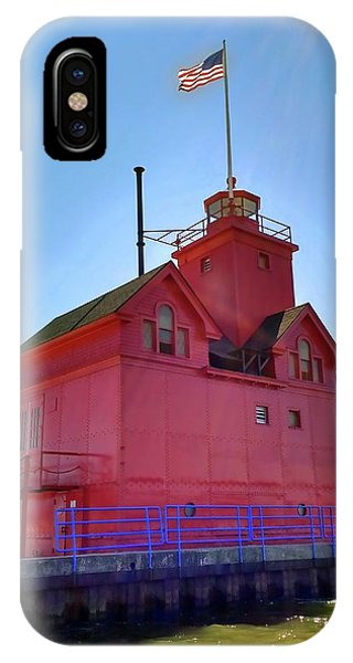 Michelle iPhone Case - Summer Sun And Big Red by Michelle Calkins