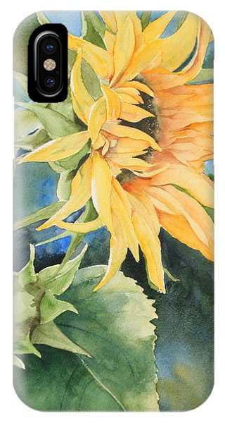 Summer Sunflower IPhone Case