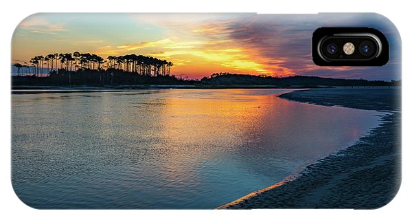 Summer Sunrise At The Inlet IPhone Case