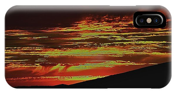 Summer Sunset Rain IPhone Case