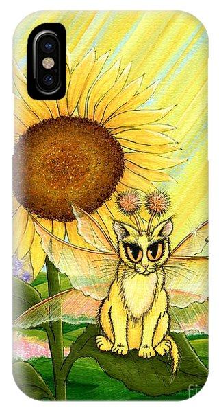 Summer Sunshine Fairy Cat IPhone Case