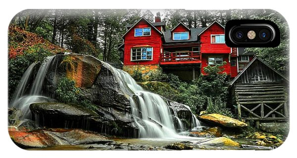 Summer Time At Living Waters Ministry And Shoals Creek Falls IPhone Case