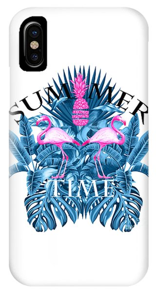 Tropical iPhone Case - Summer Time Tropical  by Mark Ashkenazi