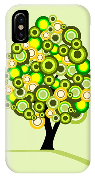 Humor iPhone Case - Summer Tree by Anastasiya Malakhova