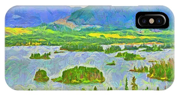 Summer View Of Lake Dillon In The Colorado Rocky Mountains IPhone Case