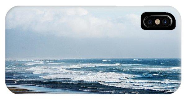 Summer Waves Netarts Oregon IPhone Case