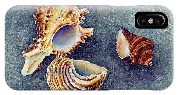 Sea Life iPhone Case - Summer Whispers by Hailey E Herrera