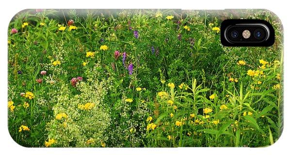 Summer Wildflowers IPhone Case
