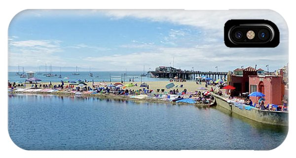 Summers End Capitola Beach IPhone Case