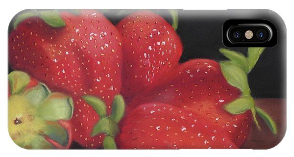 Summer's Red Gems IPhone Case