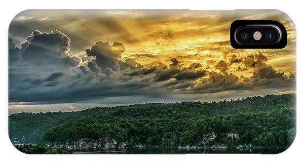 Summersville Lake Sunrise IPhone Case