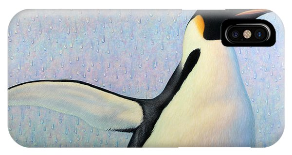 Penguin iPhone Case - Summertime by James W Johnson