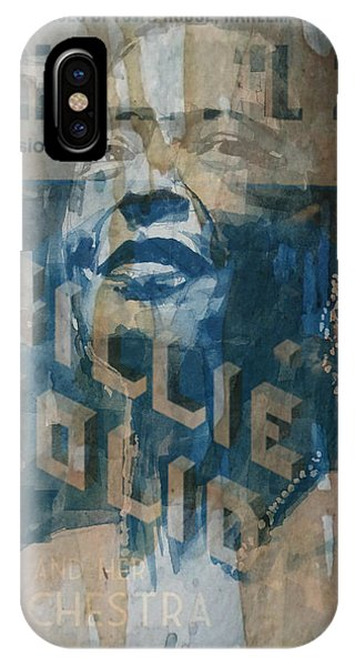 Rhythm And Blues iPhone X / XS Case - Summertime by Paul Lovering