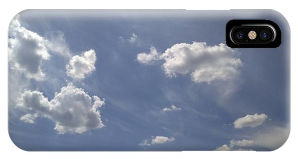 Sunny iPhone Case - Summertime Sky Expanse by Arletta Cwalina