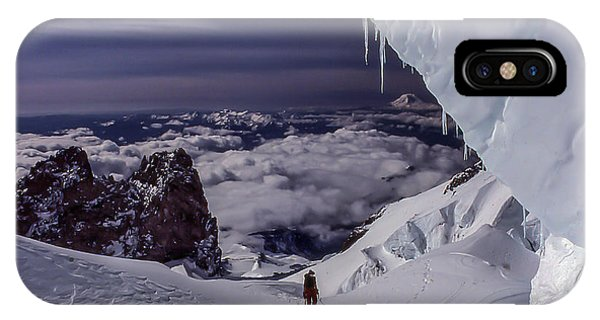 Summit Bound IPhone Case