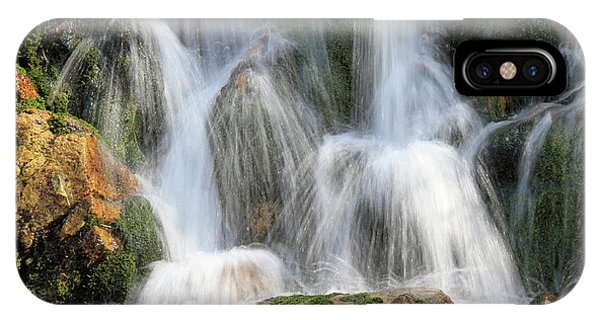 Summit Creek Waterfalls IPhone Case