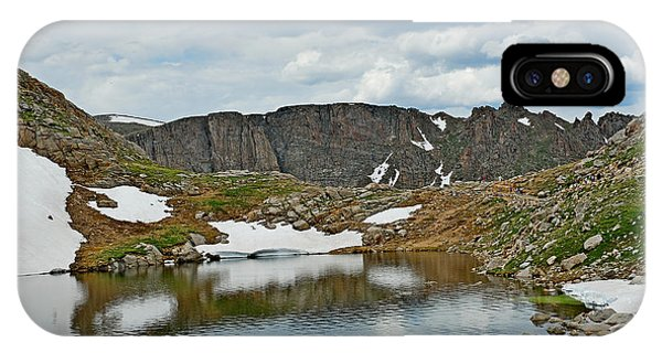 Summit Lake In Summer IPhone Case
