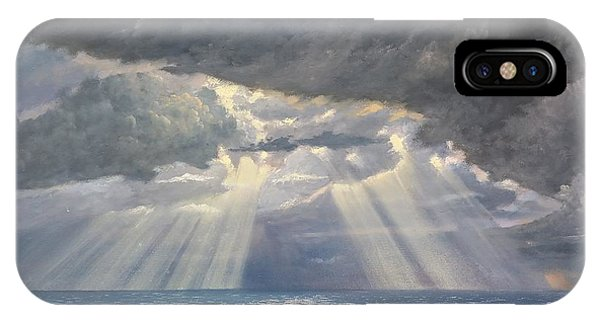 Storm Subsides IPhone Case