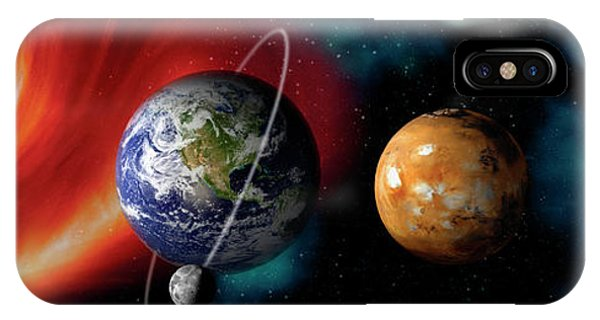 Planets iPhone Case - Sun And Planets by Panoramic Images