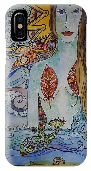 Sun And Sea Godess IPhone Case