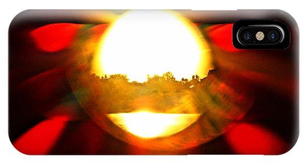 Sun Burst IPhone Case