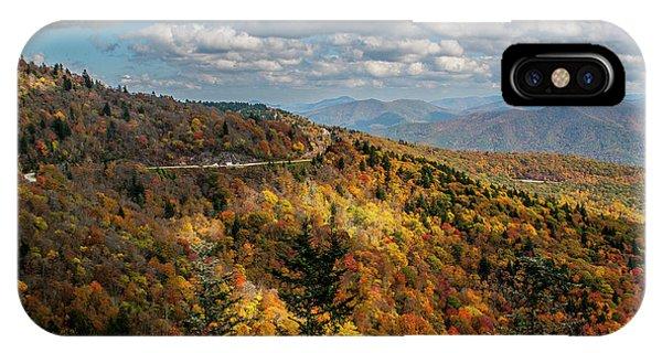 Sun Dappled Mountains IPhone Case