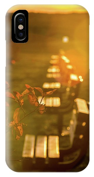 Sun Drenched Bench IPhone Case