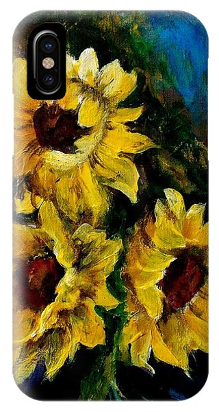Sun Flowers 1 IPhone Case