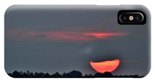 Sun Going Down IPhone Case