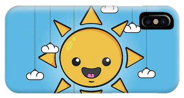 Sunny iPhone Case - Sun Is Shining In The Sky by Samuel Whitton