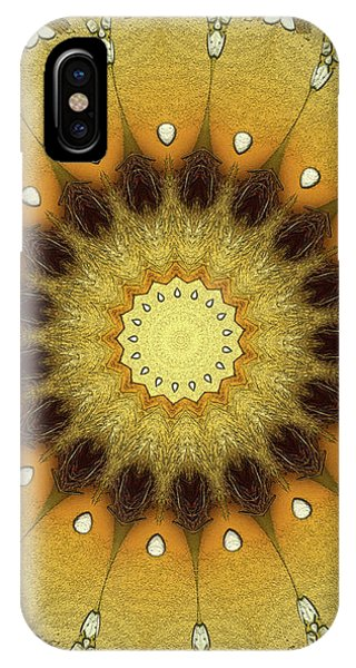 Repeat iPhone Case - Sun Kaleidoscope by Wim Lanclus