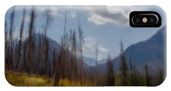 Sun Light In The Forest IPhone Case