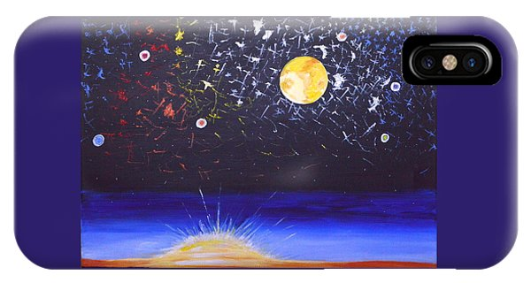Sun Moon And Stars IPhone Case