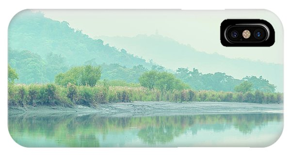 Sun Moon Lake Pastels IPhone Case