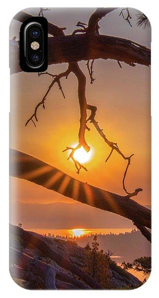Sun Ornament - Cropped IPhone Case