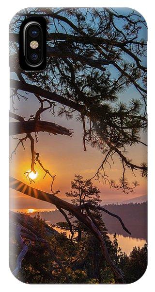 Sun Ornament IPhone Case