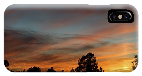 IPhone Case featuring the photograph Sun Pillar Sunset by Jason Coward