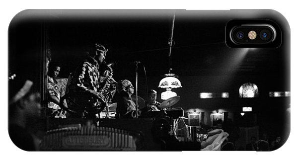 Sun Ra Arkestra At The Red Garter 1970 Nyc 21 IPhone Case