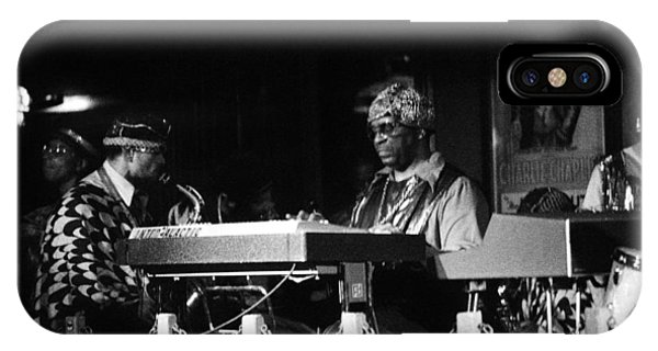 Sun Ra Arkestra At The Red Garter 1970 Nyc 31 IPhone Case