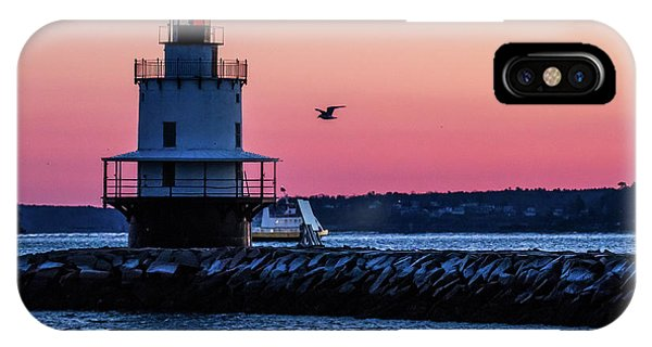 Sun Rise At Spring Point IPhone Case