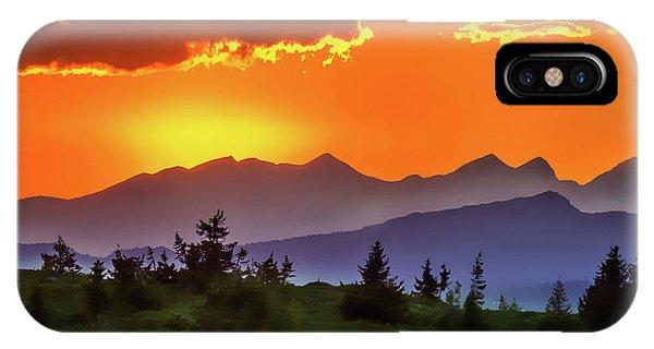 iPhone Case - Sun Rising by Harry Warrick