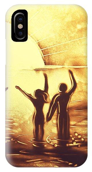 Sun Salutation IPhone Case